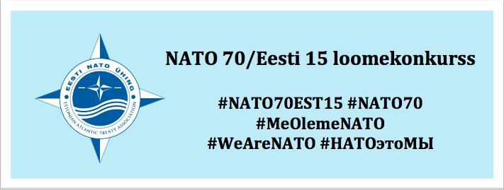 NATO70EST15 loomekonkurss
